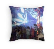 Rave On - Wadi Rum, Jordan Throw Pillow