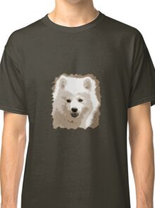 Japanese Spitz close up Classic T-Shirt