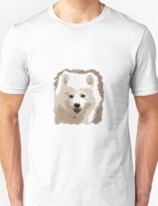 Japanese Spitz close up Unisex T-Shirt