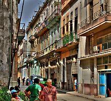 Una calle en Cuba by Christophe Faugere