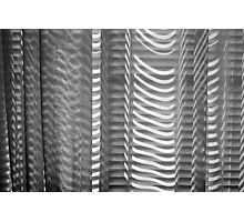 Shades and Blinds, B&W, part 2 Photographic Print