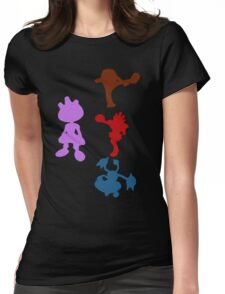 Tyrouge Evolution Chart Womens Fitted T-Shirt