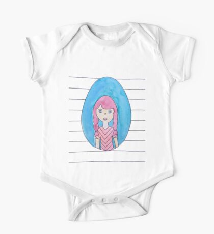 The Girl with Red Hair One Piece - Short Sleeve