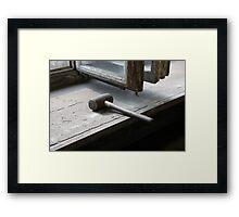 Rawhide Mallet Framed Print