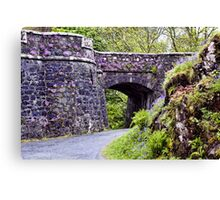 Dunvegan Castle Wall Canvas Print