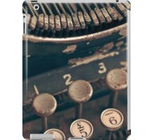 Vintage Typewriter iPad Case/Skin