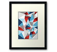Assassin's creed polygon V2 Framed Print