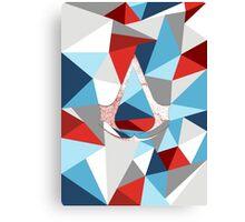 Assassin's creed polygon V2 Canvas Print