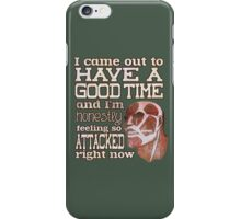 Attack on Titan - Feeling so Attacked iPhone Case/Skin