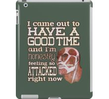 Attack on Titan - Feeling so Attacked iPad Case/Skin