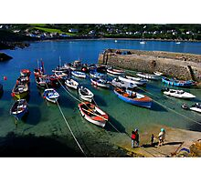 Coverack in the sun Photographic Print