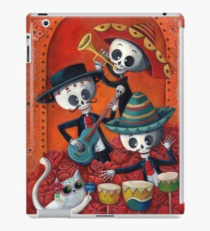 Dia de Los Muertos Skeleton Musicans iPad Case/Skin