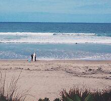 San Diego Beach by whitneykayc