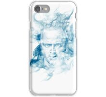 No Smoke Without Meth (Blue) iPhone Case/Skin