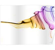 Raindow ribbon Poster