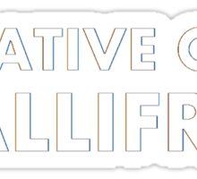 Native Of Gallifrey Sticker
