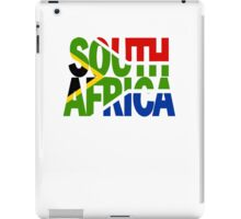 South Africa + flag iPad Case/Skin