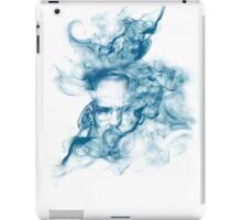 Up in Smoke (blue) iPad Case/Skin