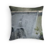Waterfall at Pi'ihonua - above Hilo Throw Pillow