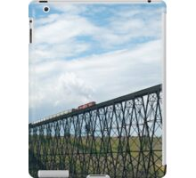 Train on the Bridge iPad Case/Skin
