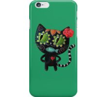 Black Cat of The Dead iPhone Case/Skin