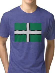 Devon flag Tri-blend T-Shirt