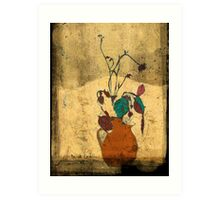 bouquet sordide fresco  Art Print