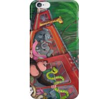 Animal Jungle Train iPhone Case/Skin