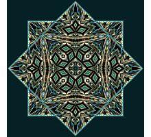 Festive precious ornament pattern star Photographic Print