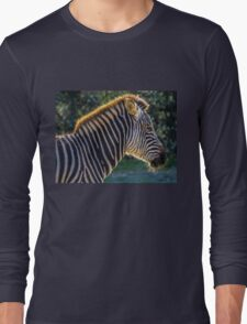 Zebra. Long Sleeve T-Shirt