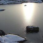 Icy sunset by Annbjørg  Næss
