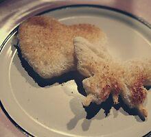 Flutterby Heart Toast by Ashie Bear