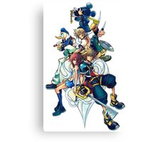 Kingdom Hearts 2 Canvas Print
