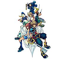 Kingdom Hearts 2 Photographic Print