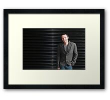 Guto - Softbox testing Framed Print