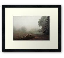Winter in Tervuren Framed Print