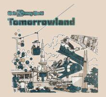 Walt Disney World Tomorrowland 1970s Artwork by The Department Of Citrus