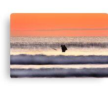 Surfers-Dingle Co.Kerry Canvas Print