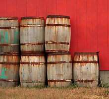 Barrels by Debbie  Roberts