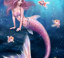 Aurelia Goldfish Mermaid by Rachel Anderson