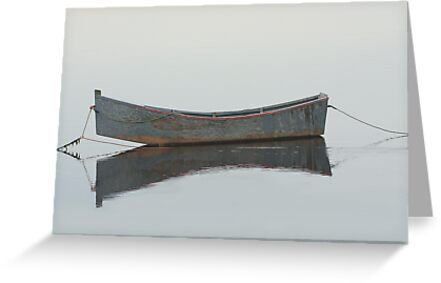 Resting Boat by Debbie  Roberts