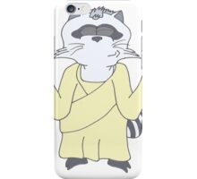 Raccoon God Design iPhone Case/Skin