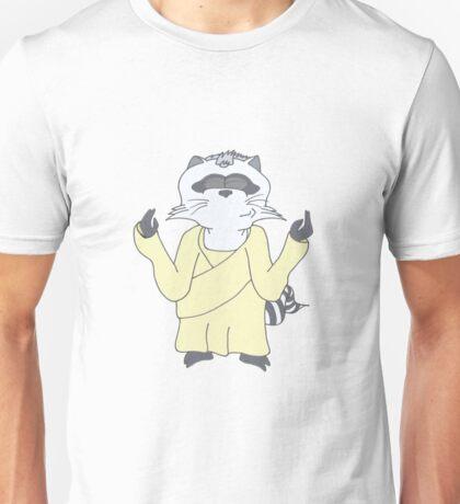 Raccoon God Design Unisex T-Shirt