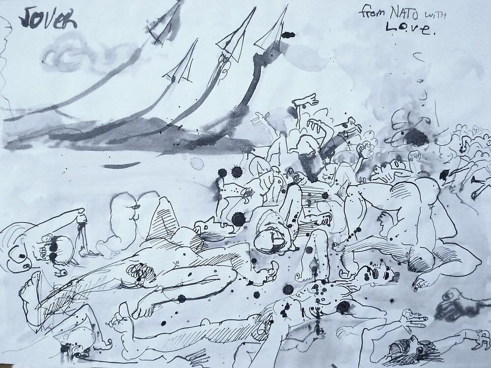 war series # 7 by Loui  Jover