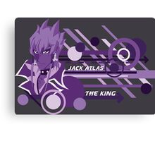 The King - Jack Atlas  Canvas Print