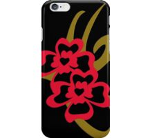 Tribal shamrock tattoo iPhone Case/Skin