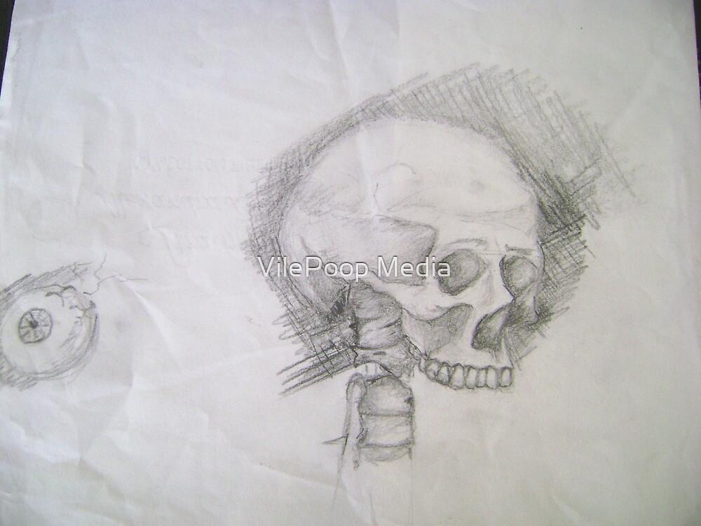 Skull & Eye by JD Longhurst