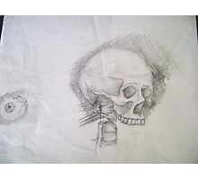 Skull & Eye Photographic Print