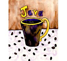Java Java Java Photographic Print