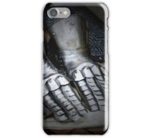 Be loyal of hands and mouth iPhone Case/Skin